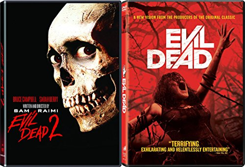 The Evil Dead Collection DVD + The Evil Dead 2 Demons Horror Movie Set