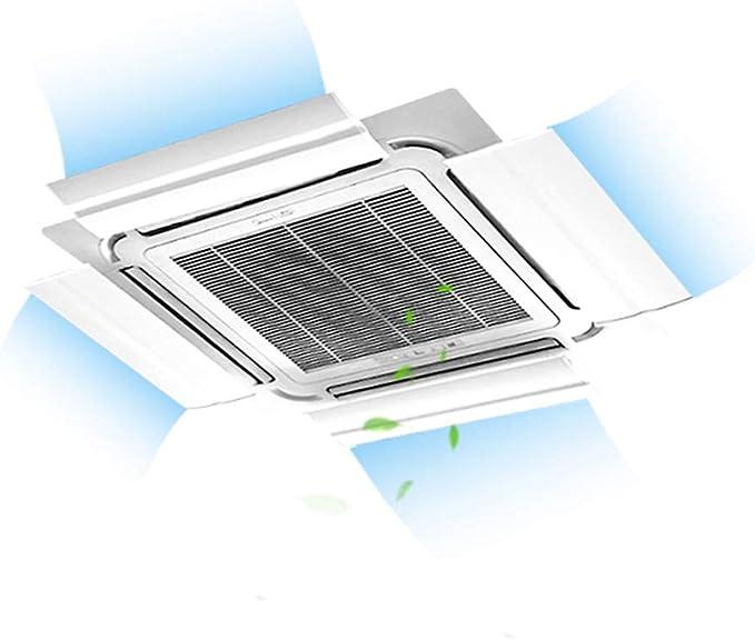 Deflector De Aire Acondicionado, Hogar De La Oficina Aire Acondicionado Viento Protector Viento FríO, GuíA De Viento Cubierta De Aire Acondicionado Ajustable: Amazon.es: Hogar