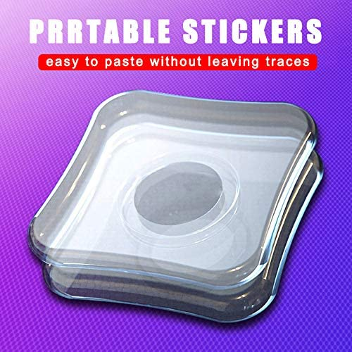 Magic Sticker Phone Holder Reusable Simple Casual Paste Support for Earphone Home Square 1Pc Yagaga Multi-Functional Universal Sticky Car Phone Holder