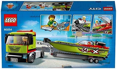 LEGO 60254 Rennboot-Transporter City