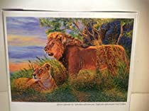 Wildlife Gallery African Splendor Mega Puzzles 1000 Pieces by Mega Puzzles