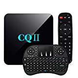 [Free Wireless Keyboard] TopYart Newset CQII Android 6.0 Amlogic S905X Quad Core 4K Ultra HD 1G RAM 8G ROM flash Smart TV Box + Wireless Keyboard
