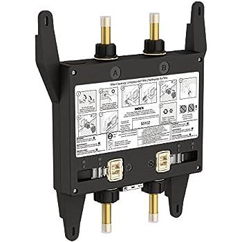 moen s3102 bathroom shower u by moen digital shower valve 2 outlet. Black Bedroom Furniture Sets. Home Design Ideas