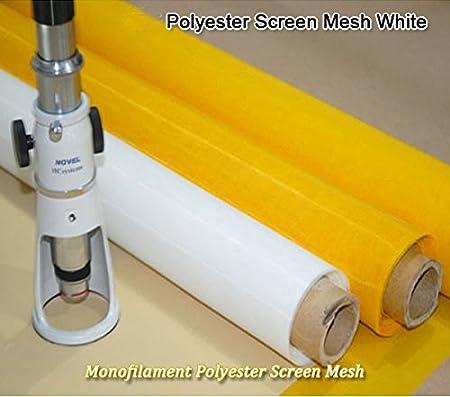 1 yard 140M 55T Polyester Silk White Screen Printing Mesh Fabric Tool 100cm