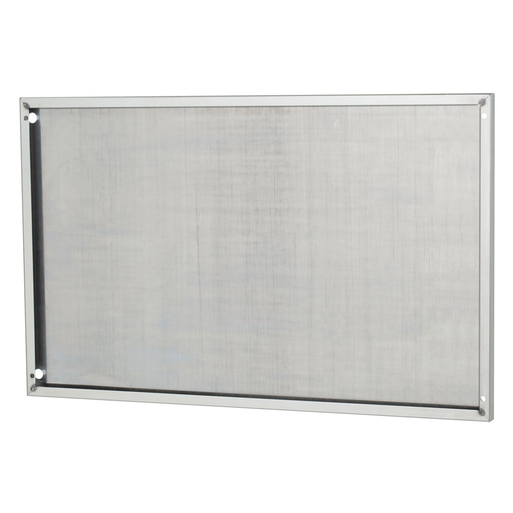 Viper Tool Storage V3624BWPS 36-Inch Magnetic 18G Stainless Steel Back Wall Panel with Brushed Accents