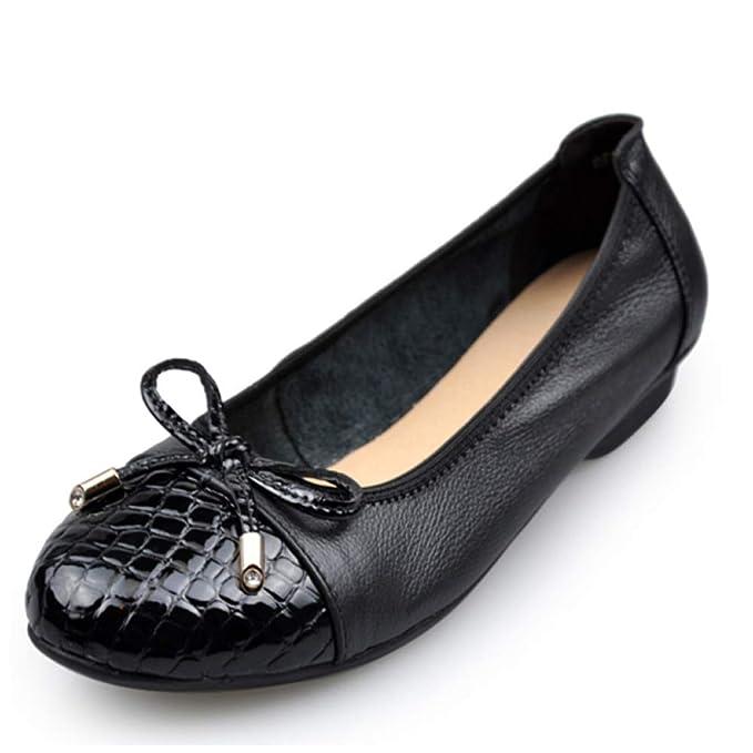 Zapatos Planos Zapatos Para Mujeres Pajarita Mocasines Bombas Zapatos Para Barcos Mocasines De Oficina: Amazon.es: Ropa y accesorios