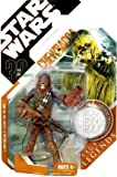 : Star Wars Saga Legends Chewbacca Action Figure with Coin