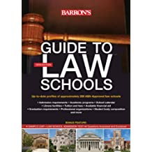 Guide to Law Schools (Barron's Guide to Law Schools)