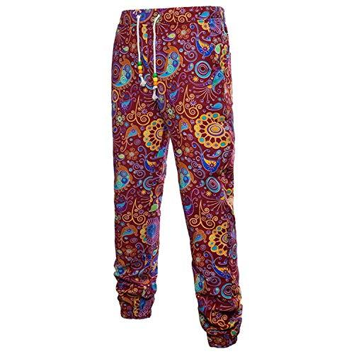 Sweatpants Pantalones Joggers Vintage Cómodos Lino Para Sueltos Florales  Largos Deportivos Estampados De Tamaños Ocasionales Hombre 3d Verano Ropa  wadzqw c15c2ad8d422