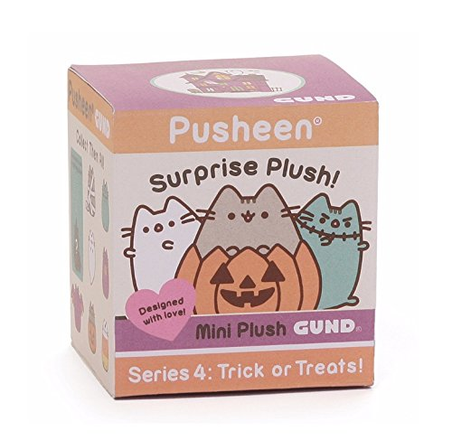 GUND Pusheen Surprise Series #4 Halloween Stuffed Animal