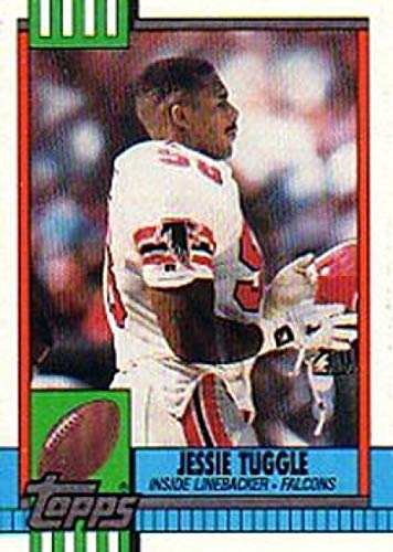 1990 Topps #479 Jessie Tuggle Falcons NFL Football Card (RC - Rookie Card) NM-MT
