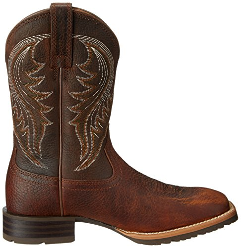 Ariat Menns Hybrid Rancher Western Cowboy Boot Brun Oljet Bølle