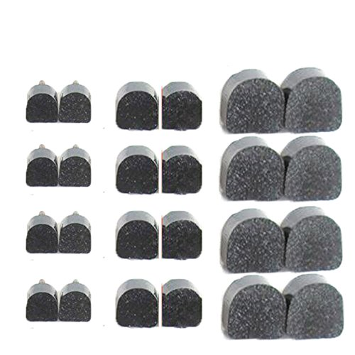 Miss Y 12 PACK U-Shaped TPU Wearable and Quiet High Heel Shoes Replacement Tips (High Heel Shoe Pin)