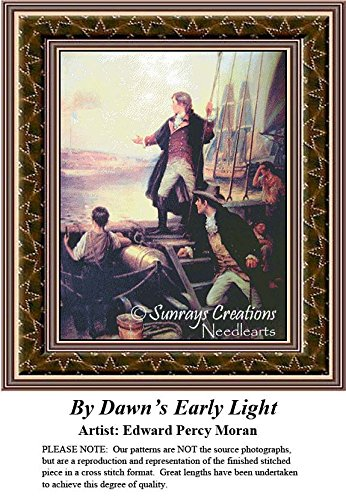 Patriotic Cross Stitch Patterns |By Dawn's Early Light (Pattern Only, You Provide the Floss and Fabric)