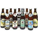 Bierset 'Bayerische Weissbiere' (9 Flaschen à 0,5l / 5,5 % vol.)