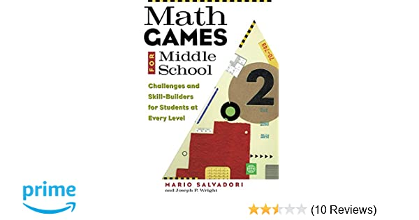 Amazon com: Math Games for Middle School (9781556522888