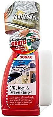 SONAX 05276410 GRP Barco y Caravana Kit de Limpieza con Almohadillas de Limpieza