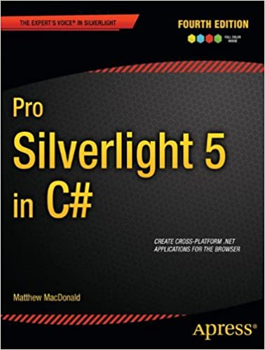 Pro Silverlight 5 In C Experts Voice Matthew MacDonald 9788132206514 Amazon Books
