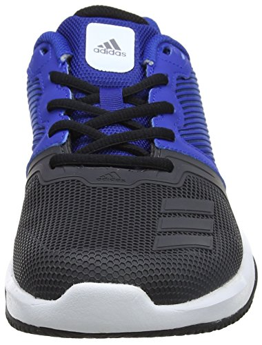 adidas Gym Warrior 2, Scarpe Sportive Indoor Uomo, Blu (Collegiate Royal/Utility Black/Ftwr White), 40 EU