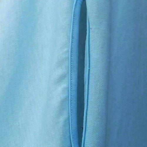 Spbamboo Women Plus Size Casual Blouse Irregular Shirt Batwing Sleeve Tops 2018 by Spbamboo (Image #3)