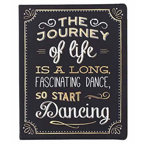 Eccolo World Traveler Desk Size Journal, Chalkboard Journey of Life (D505F)