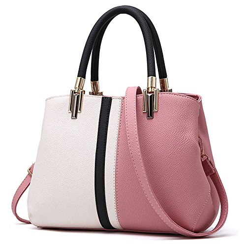 Tibes Purse Girls Women Pink For Bags For Top Totes Shoulder Bags Clutches Handbags Bags Handle apSqZrawx