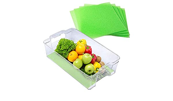 Newdiva Fruit /& Veggie Life Extender Liner for Fridge Refrigerator Drawers,Extends the Life of Your Produce /& Prevents Spoilage