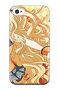 Best 2274615K369931765 halloween cleavage animal ears Anime Pop Culture Hard Plastic iPhone 4/4s cases