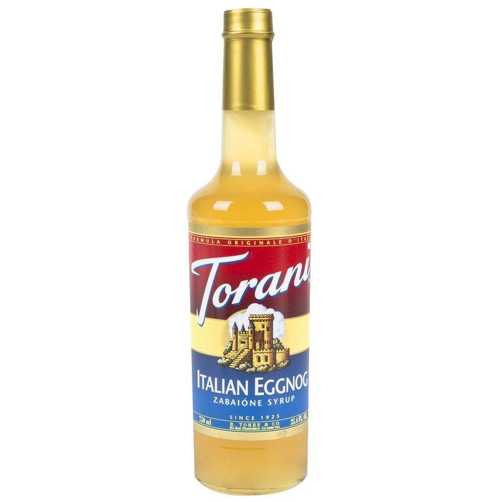 Torani Italian Eggnog Syrup 750mL