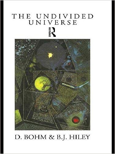 Amazon Com The Undivided Universe An Ontological Interpretation Of
