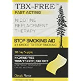 TBX-FREE Stop Smoking Oral Strip Aid 120 Strips (Classic)