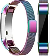 Vancle Metal Bands Compatible with Fitbit Alta HR Bands, Fitbit Alta Accessories Replacement Bands with Magnetic Closure Clasp for Fitbit Alta HR/Fitbit Alta