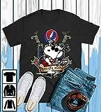 Snoopy Play Guitar Grateful Dead T-Shirt, Long T-Shirt, Sweatshirt, Hoodie