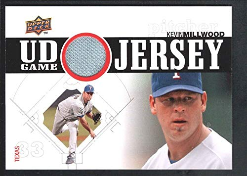 Rangers Jersey Texas 1 - BIGBOYD SPORTS CARDS Kevin Millwood 2010 Upper Deck Series 1#UDGJKM UD Game Jersey Texas Rangers SP