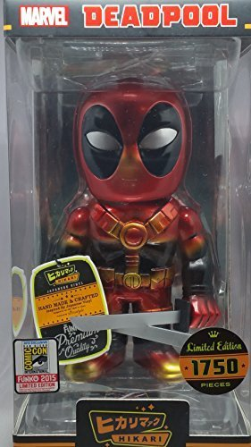 Funko Hikari Marvel Cosmic Powers Deadpool SDCC 2015 Limited Edition Vinyl Figure by (Sdcc Limited Edition)