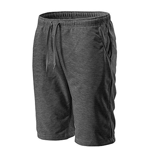 Sport Sports 2019 Homme Pantalonsshorts 3 Loisirs Porlous Casual Gris Cours En Les Short Mode D'exécution Court Foncé Fitness 4 Coupe Loose De Pantalon Classique Work UzzqwC