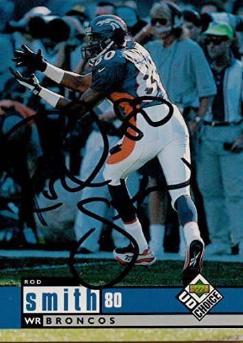 Football NFL 1998 Upper Deck #327 Rod Smith Broncos by