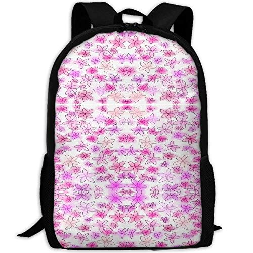 Stylish Laptop Backpack Feelin' Groovy Fabric Brand School Backpack Bookbags College Bags Daypack (Feelin Groovy Accessory)
