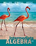 Intermediate Algebra (Hardcover) W/ Connect Plus Hosted by ALEKS Access Card 52 Weeks, Miller, Julie and O'Neill, Molly, 0077736885