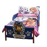 Paw Patrol 42701-311-TDST-PAWG Pink 3 Piece Toddler Bedding Set