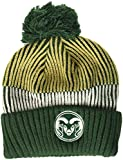 NCAA Colorado State Rams Youth Boys Team Stripe Cuffed Hat w/Pom, Multi, Youth One Size