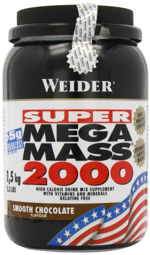 Weider Nutrition Mega Mass 2000 Chocolate 1500g