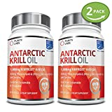 2 Bottle Bundle - Save an Extra 10% - Maximum Strength 100% Pure Antarctic RIMFROST® Krill Oil with 1,000mg Krill Oil & 450mg Phospholids per serving - 60 Softgels