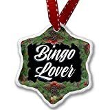 Christmas Ornament Classic design Bingo Lover - Neonblond