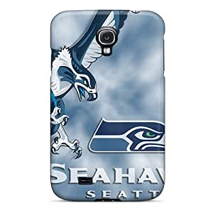 Quality Moddcasess Cases Covers With Seattle Seahawks Nice Appearance Compatible With Galaxy S4