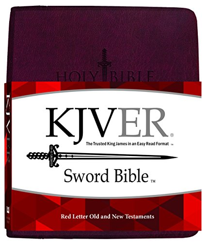 Kjver Sword Bible Personal (KJVER Sword Value Thinline Bible Personal Size Burgundy Ultrasoft: King James Version Easy Read)