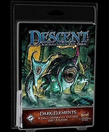 Fantasy Flight Games Descent Journeys in The Dark 2nd Edition - Dark Elements Expansion: Amazon.es: Juguetes y juegos