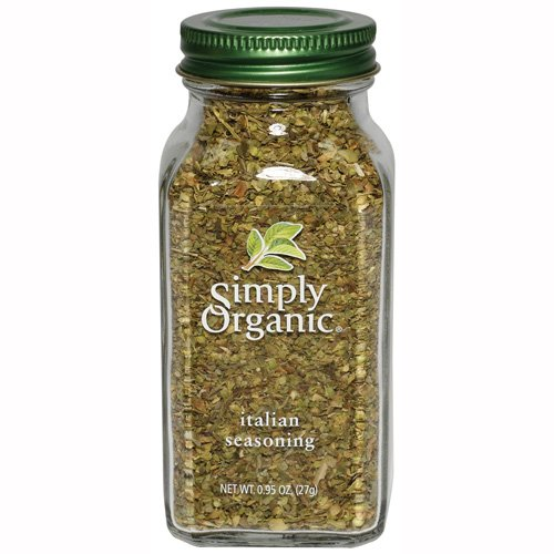 Simply Organic Italian Seasoning Certified Organic, 0.95-Ounce Containers (Pack of 3) by Simply Organic