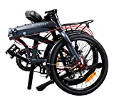 "Camp 20"" Alloy 16 Speed Folding Bike Disc Brake Thunderbolt"