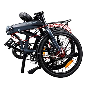 Camp Adult Folding Bike for Men Women with Magnets Thunderbolt